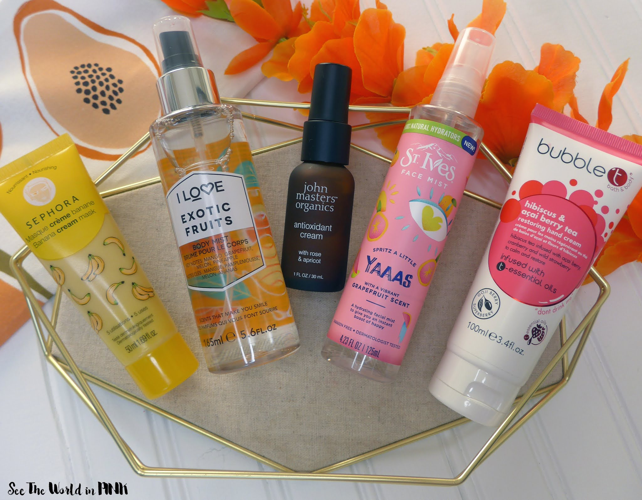 Tropical Fruit Skincare Products for Summer