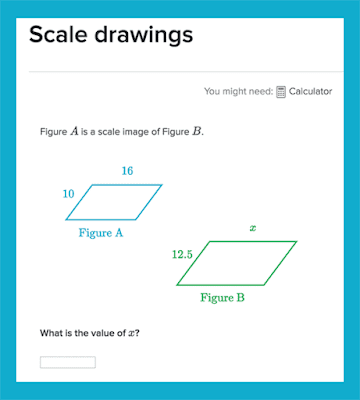 Exercises on scaling drawings