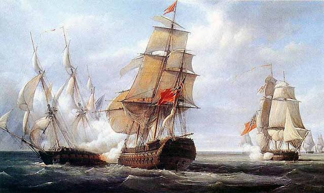 La Perdida de la Fragata Elena 1797.