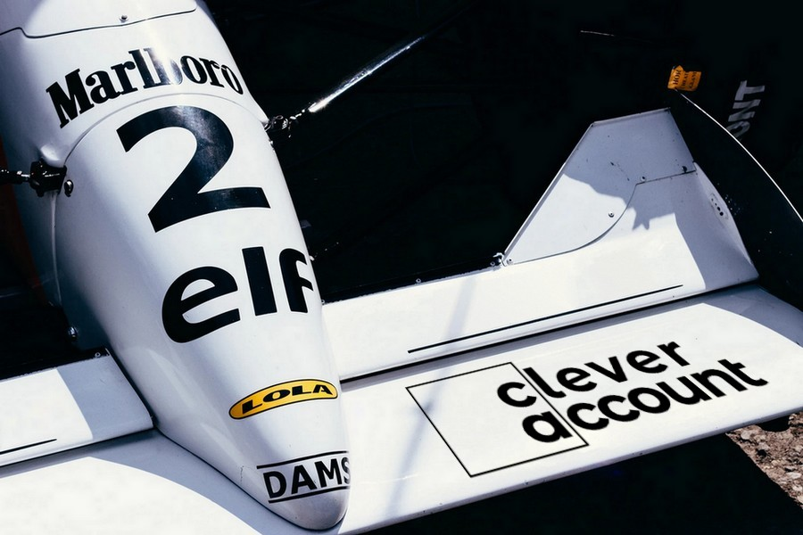 Clever Account Mock Brand Motorsport