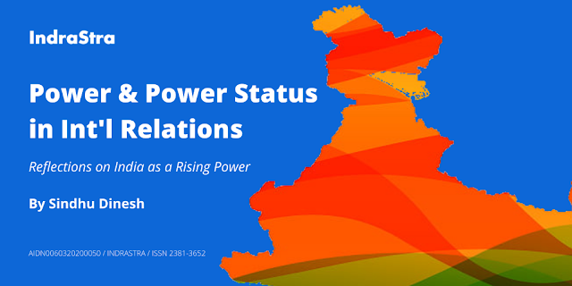 Power and Power Status in International Relations