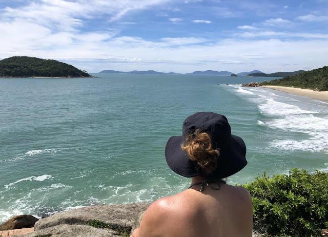Caminho para Praia de Fora - Governador Celso Ramos