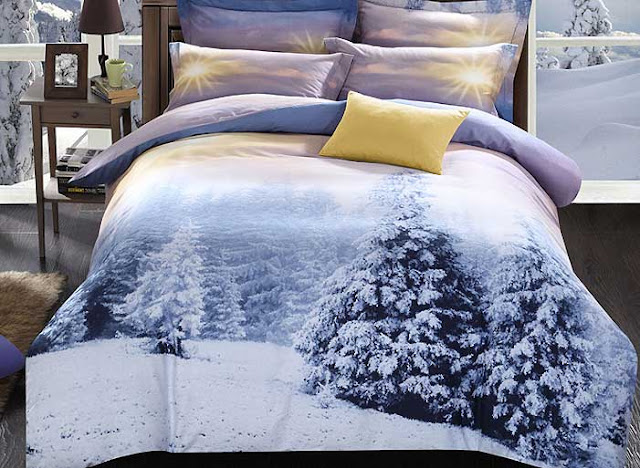 Winter 3D Bedding Sets