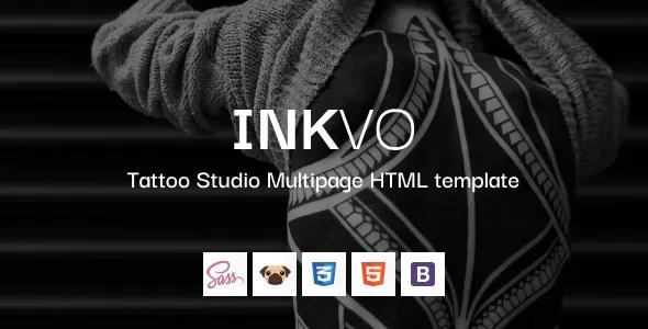Best Tattoo Studio HTML5 Template