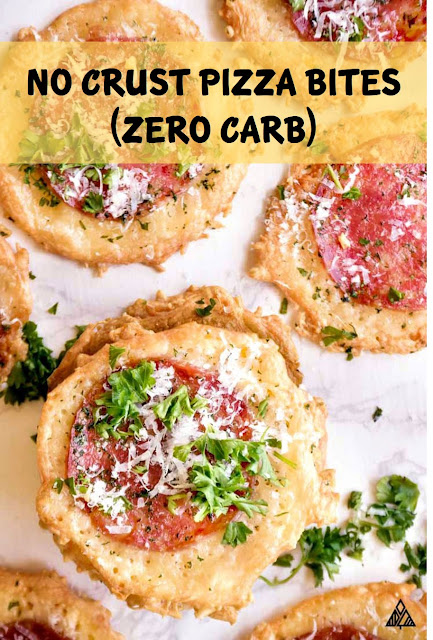 NO CRUST PIZZA BITES (ZERO CARB)