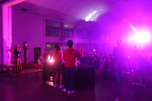 DJ Kenzy Hizkia Meriahkan Penutupan POM UKM Olahraga ke-3