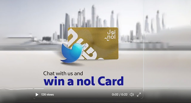 Chat with RTA Dubai and Win Nol Card