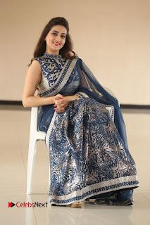 Actress Manjusha Pictures in Saree at Srirastu Subhamastu Song Launch  0202.JPG