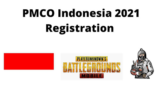 PMCO Indonesia 2021 Registration