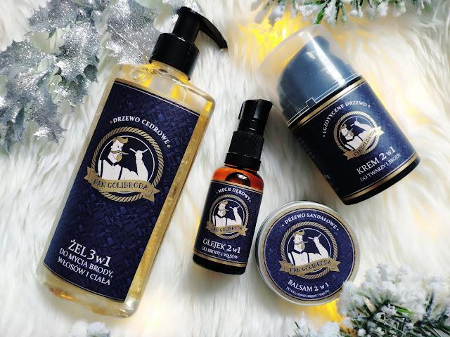 Pan Golibroda - Kosmetyki dla wąsaczy i brodaczy dostępne w Drogeriach Natura