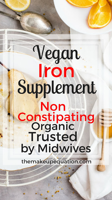 Vegetarian Organic Iron Suplement That Is Not Constipating
