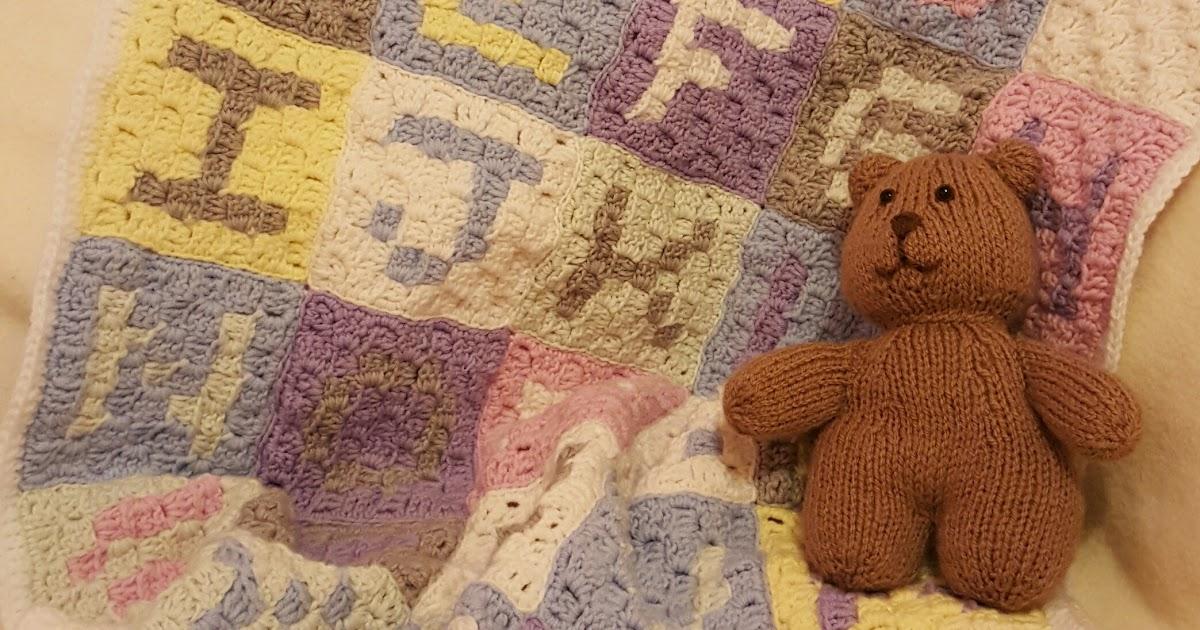 Free Crochet Abc Blanket Pattern : Owl In Stitches: Alphabet Baby Blanket - Free Crochet Pattern