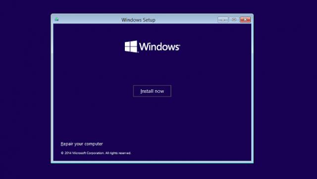 cara install ulang windows 10 yang benar