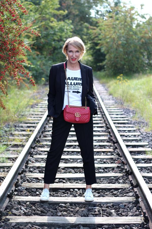 Bloggeraktion der Modeflüsterin - lässiger Hosenanzug