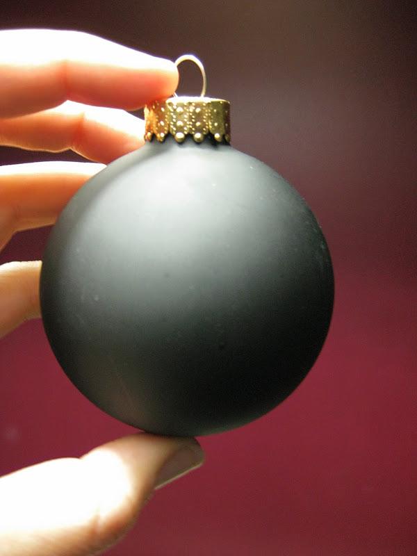 My Mind - My Life: Black Christmas Ornaments