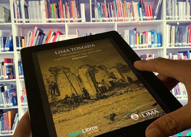 Municipalidad de Lima presentará libro sobre la vida cotidiana de los limeños durante la guerra con Chile