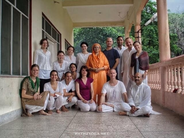 Yoga Course Group Photo