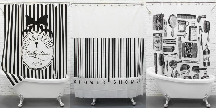 cortinas para banheiro, curtainsmarket