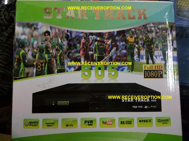 STAR TRACK 505 HD RECEIVER BISS KEY OPTION