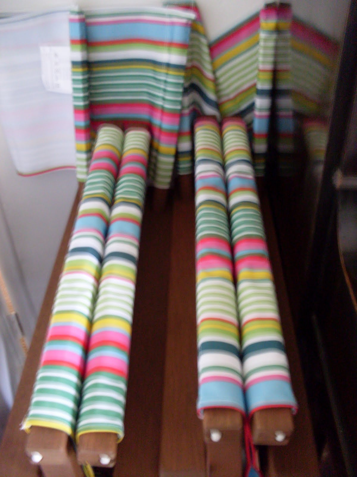 Striped Directors Chairs Chiavari Chair Covers Ebay Gillyflower Vegged Out