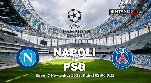 Prediksi Skor Napoli vs Paris Saint-Germain 7 November 2018