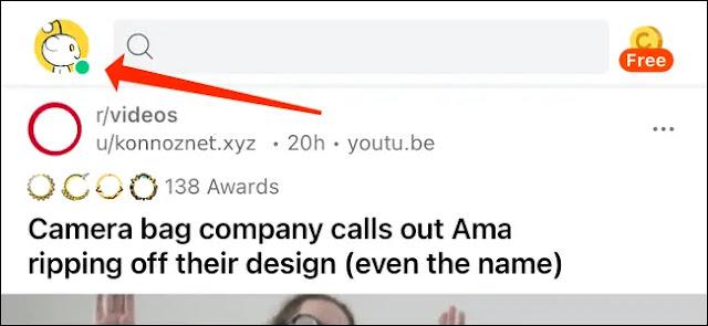 إخفاء الاتصال على Reddit لأجهزة iPhone و Android