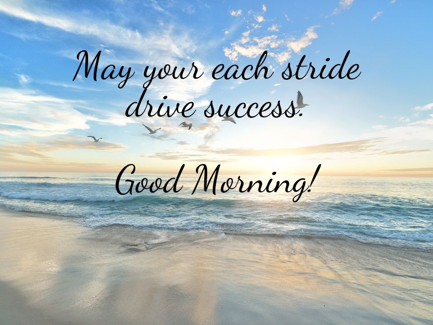 ocean good morning images with quotes