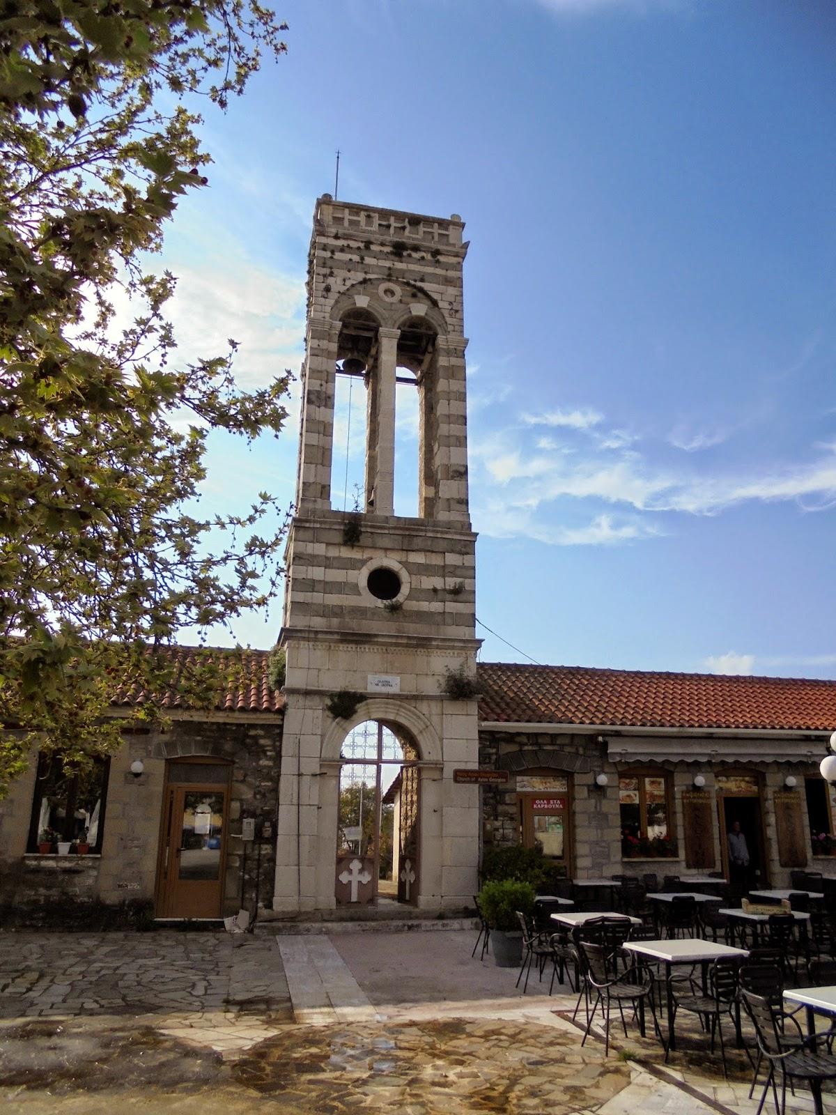 ο ναός του αγίου Γεωργίου στο Κομπότι της Άρτας
