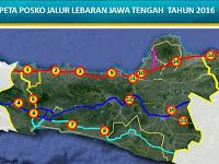 Ini Lokasi Posko Mudik Lebaran di Jawa Tengah