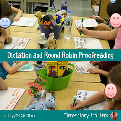 Dictation and Round Robin Proofreading: Writing sentences from dictation is a very valuable skill! Here are a few reasons why, and some suggestions on how!