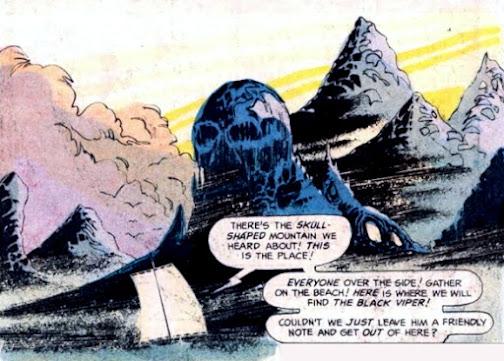 Beowulf #3, Skull Mountain