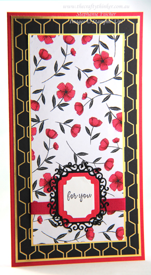 #thecraftythinker #stampinup #cardmaking #saleabration , Golden Honey SDSP, Sale-A-Bration 2020, Ornate Frames, Stampin' Up Demonstrator, Stephanie Fischer, Sydney NSW