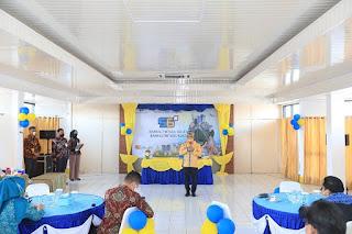Menghadiri Syukuran Hari Ulang Tahun Bankaltimtara