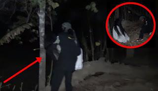Seram, Pria ini Gendong dan Pindahkan Hantu Kuntilanak