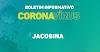 Jacobina chega a 48 casos confirmados de coronavírus