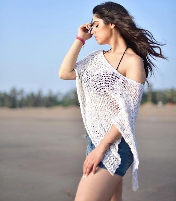 Bollywood Actress Sidhika Sharma Hot Photo Shoot Pics Navel Queens