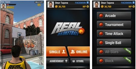 Free Download Game Real Basket Ball for Android .APK Latest Version
