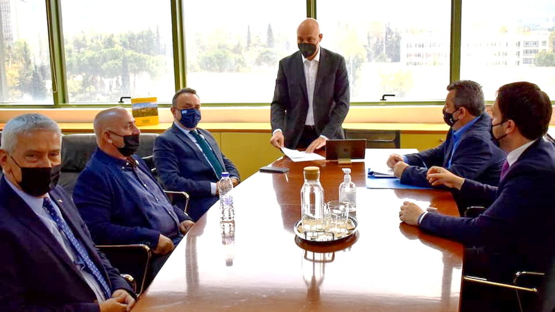 Συνάντηση των Βουλευτών Έβρου της ΝΔ και του Δημάρχου Σαμοθράκης με τον Υφυπουργό Περιβάλλοντος για τους δασικούς χάρτες της Σαμοθράκης
