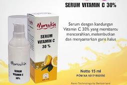 Moreskin Serum Vitamin C Solusi Mengatasi Garis Halus Di Wajah