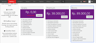 Buat Blog Self hosted