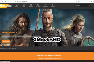 CMoviesHD - Free Movie Streaming Sites No Sign Up