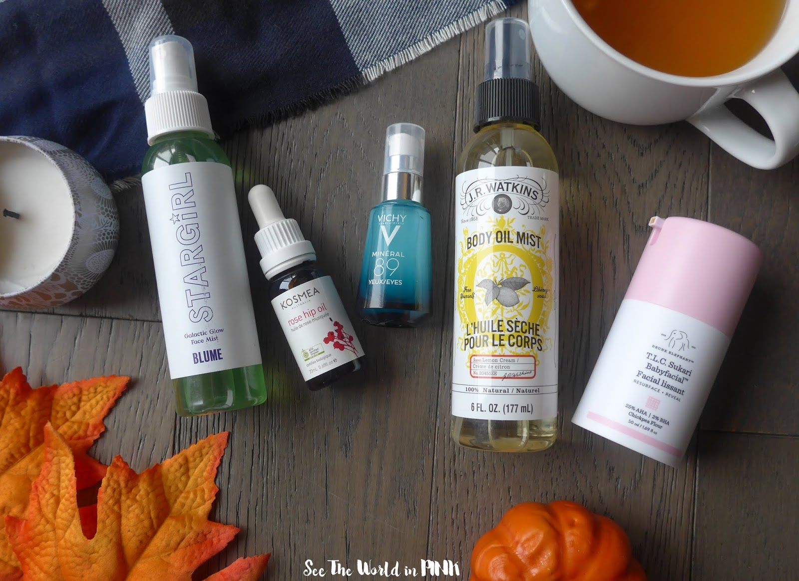 Fall Transition Skincare Products