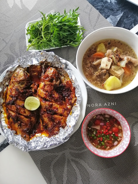 Resepi Ikan Talapia Bakar Simple & Sedap