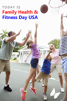 Family Health & Fitness Day USA Wishes Pics