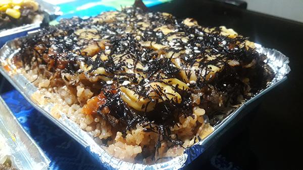 Cheesy Baked Samgyupsal with Kimchi Rice