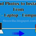 How to Upload Photos to Instagram from Computer