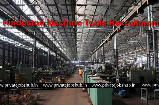 Hindustan Machine Tools Recruitment