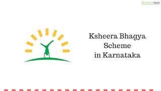Ksheera Bhagya Scheme in Karnataka