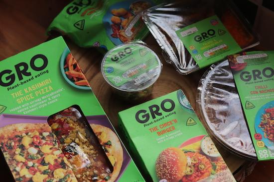 Coop vegan range GRO