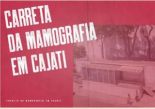 Carreta da mamografia volta para Cajati